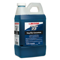 BETCO #23 Fast Draw Deep Blue Conc. Ammoniated Glass Cleaner