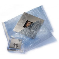 "3/16""-4""x5.5"" Bubble Pouch w/Lip & Tape"