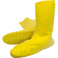 Yellow Heavy Weight Latex Nuke Boot (28 Mil, L-XXL)