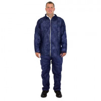 Blue Polypropylene Coveralls (L-XL)
