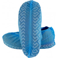 Blue Polypropylene Disposable Shoe Covers (DSCL-300-D (XL)