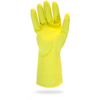 Yellow Flock Lined Canner Gloves - 2XL