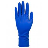 12″ Powder Free Blue Latex Gloves (13 mil, S-XXL)