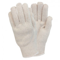 Heavyweight 100% Men's Cotton String Knit Gloves