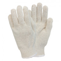 Blended String Knit Gloves - Women's
