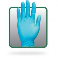 Blue PF Synthetic Vinyl/Nitrile Gloves